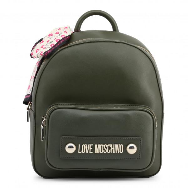 Zelený dámský batoh Love Moschino