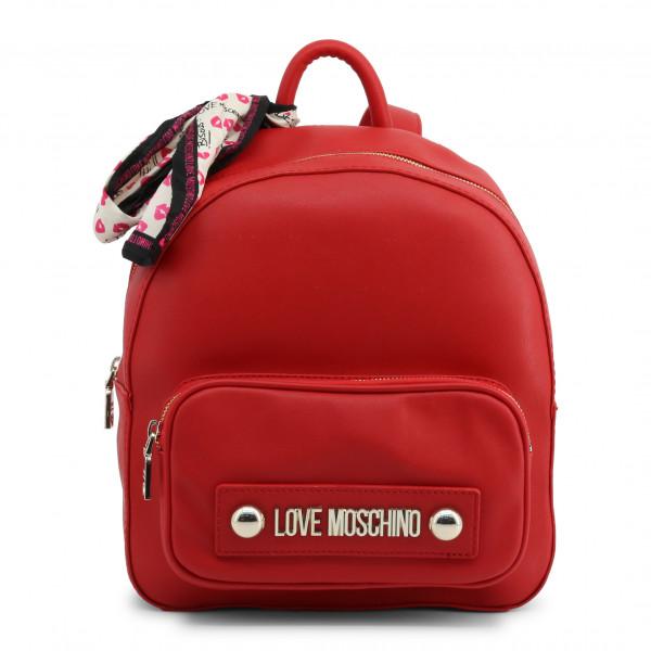 Červený dámský batoh Love Moschino