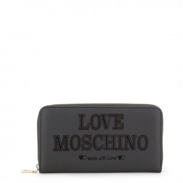 Peněženka Love Moschino šedá