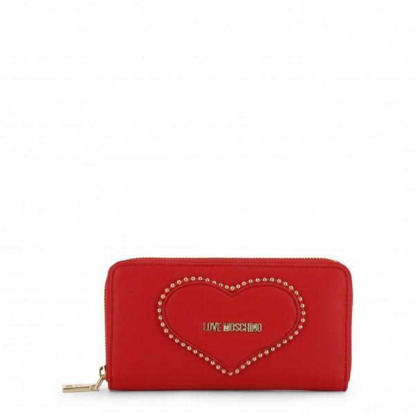 Peněženka Love Moschino červená