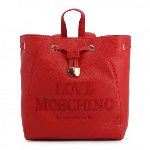 Dámský batoh Love Moschino červený