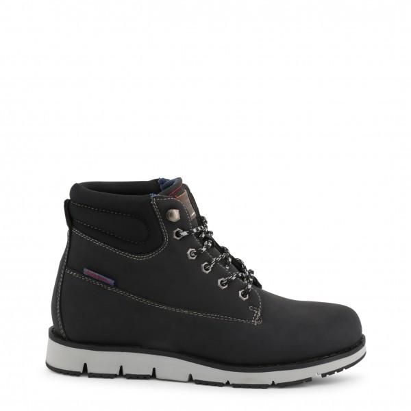 Černé Carrera Jeans pánské kotníkové boty