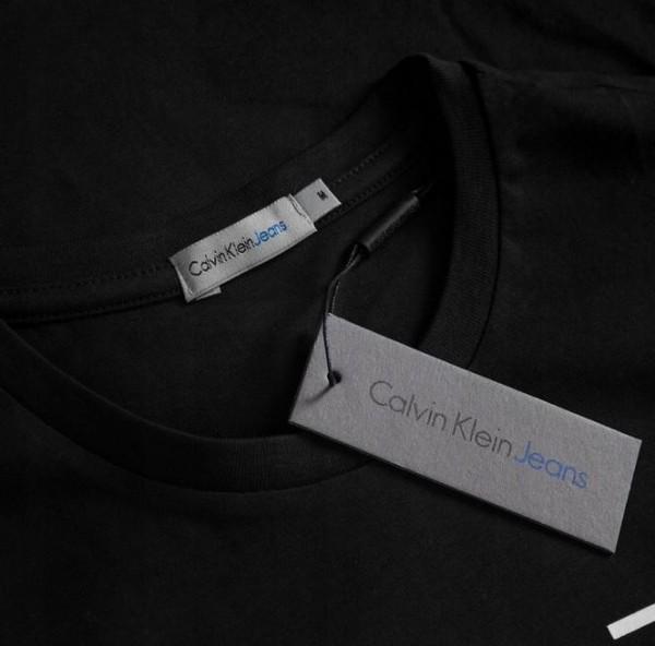 Pánské tričko Calvin Klein s dlouhým rukávem černá