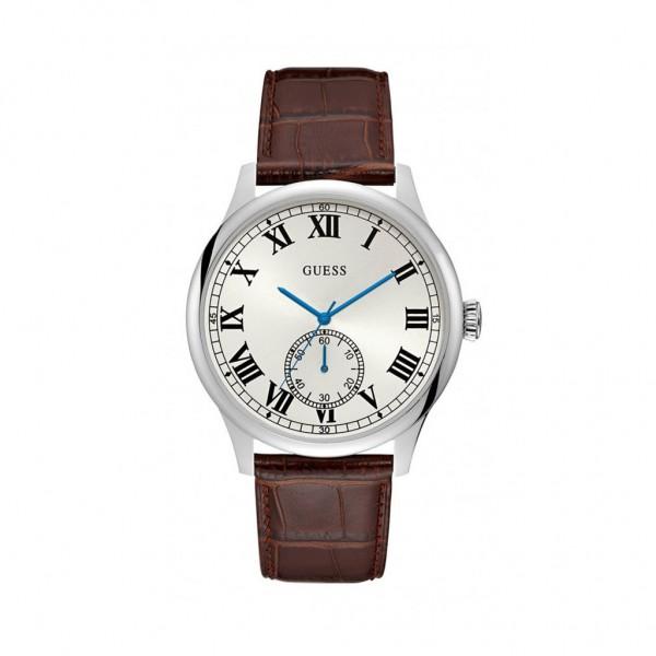 Pánské hodinky Guess hnědé