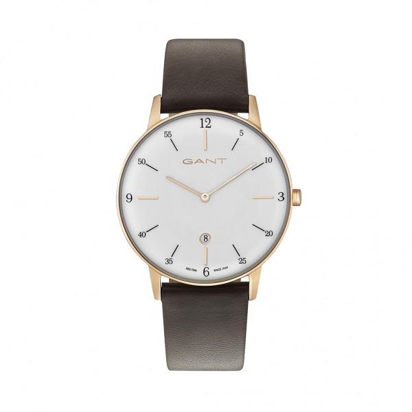 Pánské hodinky Gant PHOENIX_G hnědé