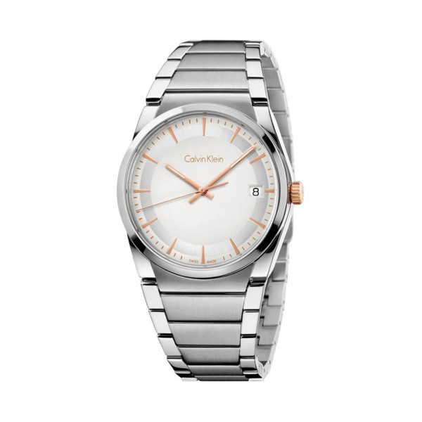 Calvin Klein pánské hodinky stříbrné