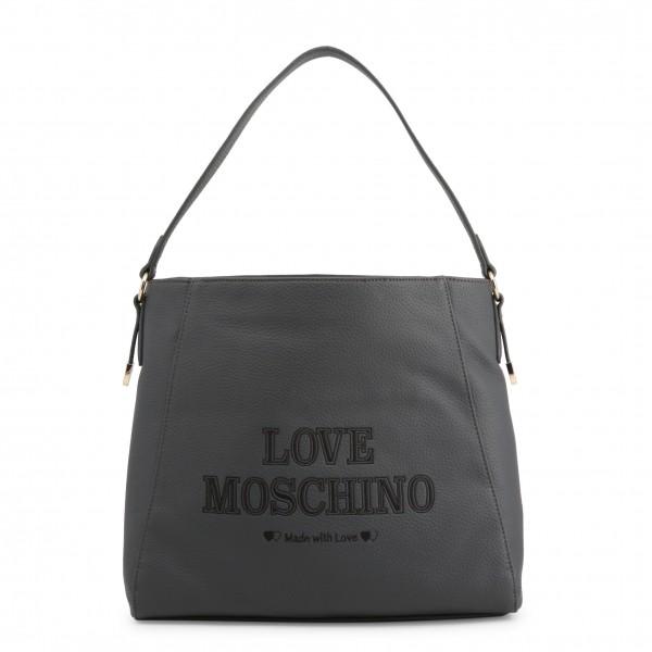 Kabelka Love Moschino šedá