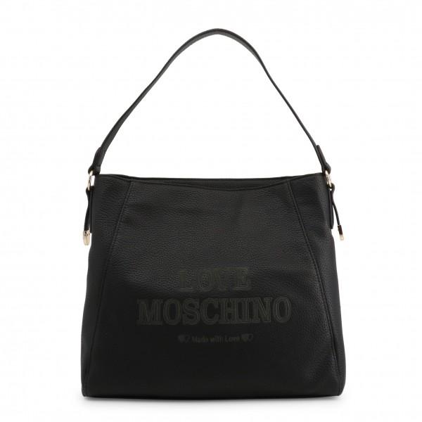 Kabelka s potiskem Love Moschino černá