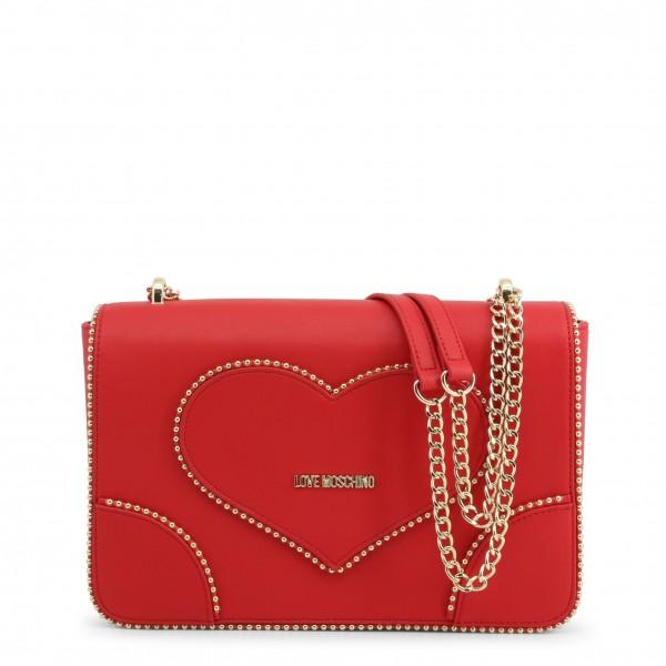 Červená stylová kabelka Love Moschino