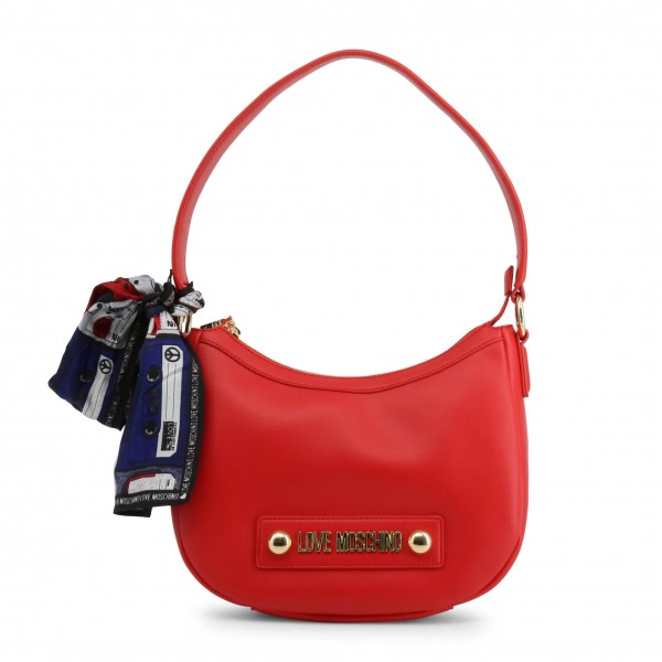 Módní kabelka Love Moschino červená