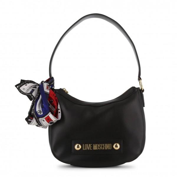 Černá kabelka Love Moschino s logem