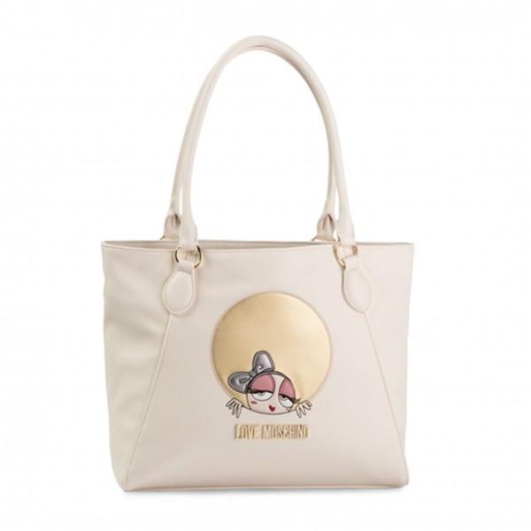 Love Moschino bílá dámská kabelka
