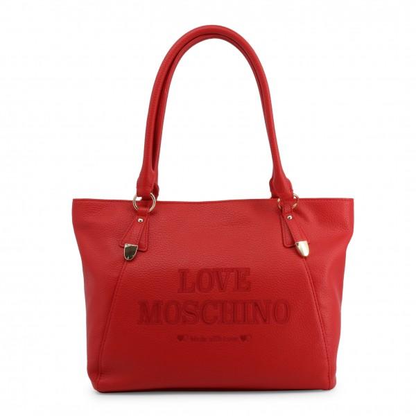 Červená Love Moschino dámská kabelka