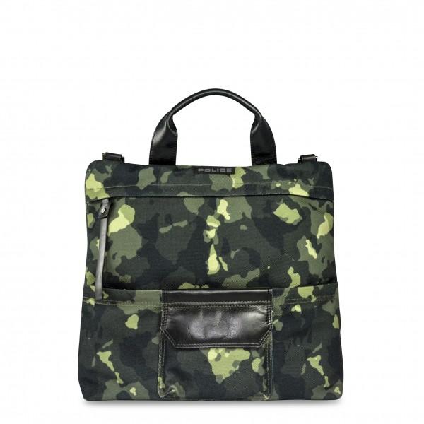 Zelená pánská taška Police maskáčová