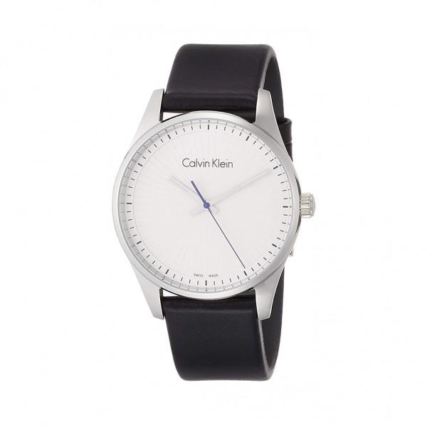 Pánské moderní hodinky Calvin Klein černé
