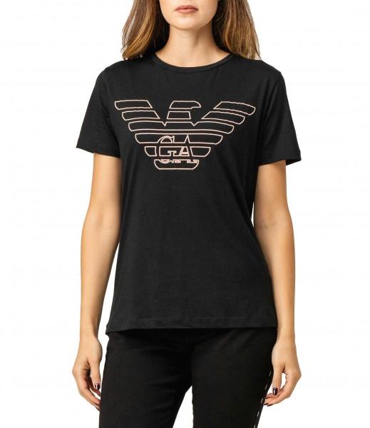 Dámské triko Emporio Armani černé