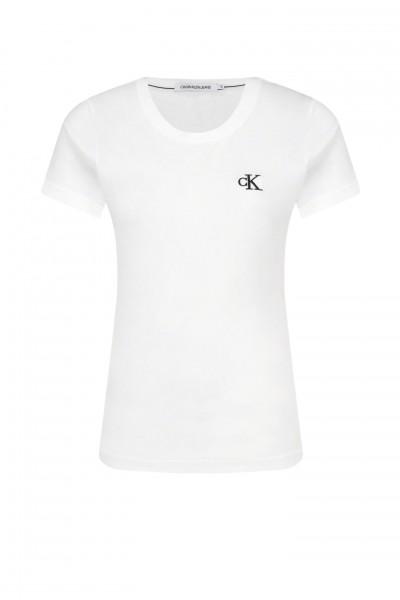 Dámské basic triko Calvin Klein bílé