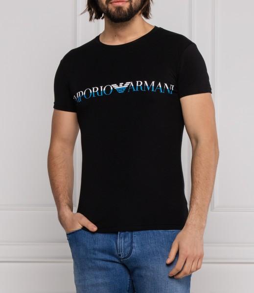 Emporio Amani pánské černé triko