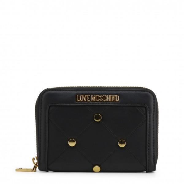Černá peněženka Love Moschino s logem