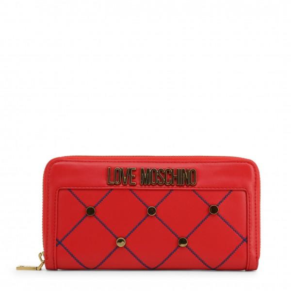 Moderní červená peněženka Love Moschino