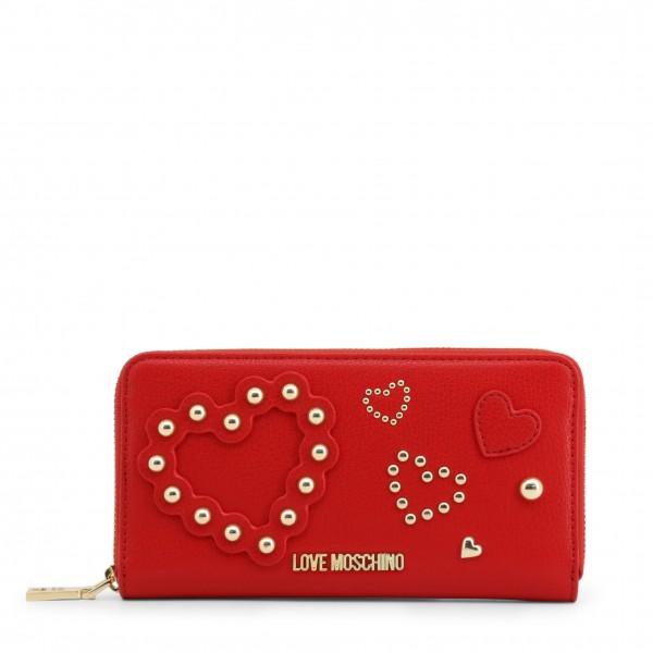 Moderní peněženka Love Moschino červená