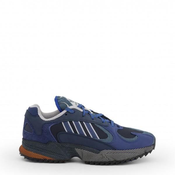 Modré stylové pánské boty Adidas