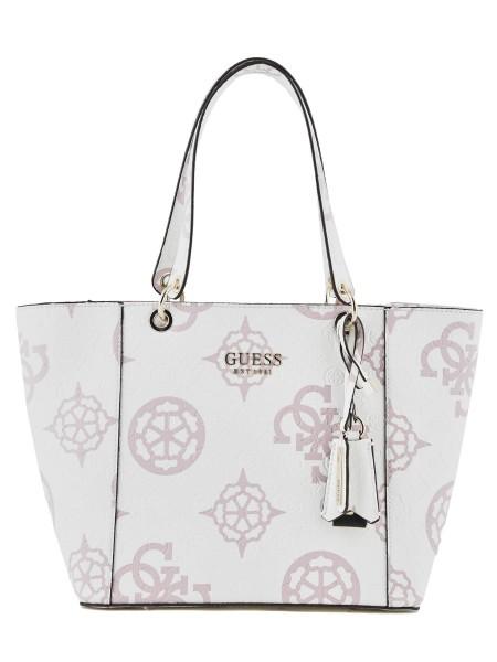 Guess bílá kabelka s logem