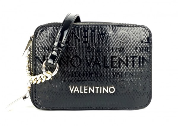 Černá Valentino módní kabelka Serenity