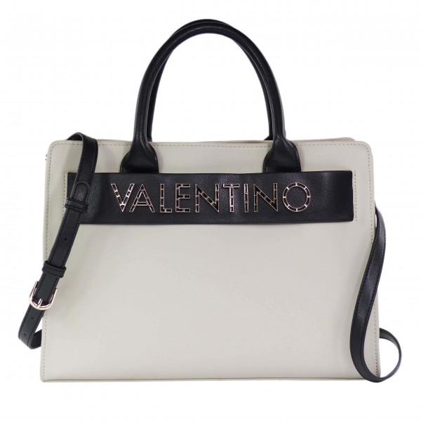 Šedá módní kabelka Fisarmonica od Valentino