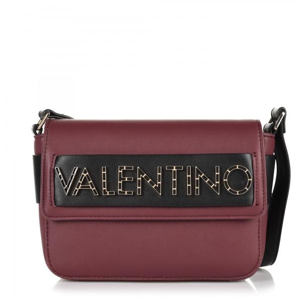 Vínová crossbody dámská kabelka Valentino