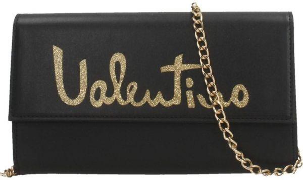 Luxusní crossbody kabelka Valentino černá
