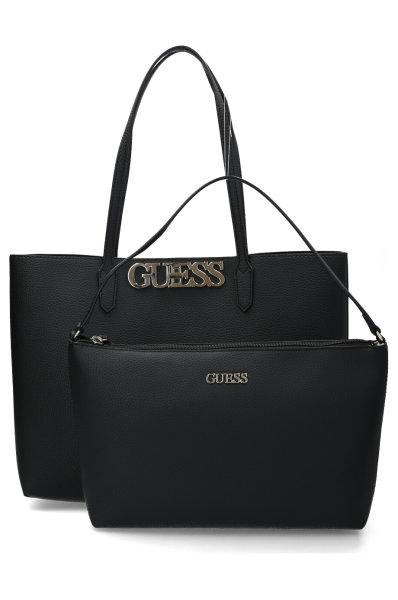 Sportovní černá Guess dámská kabelka