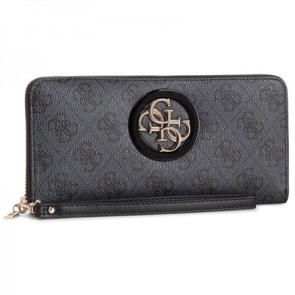 Šedá stylová Guess dámská peněženka s logem