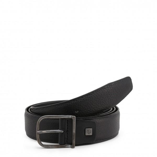 Piquadro pánský černý stylový opasek