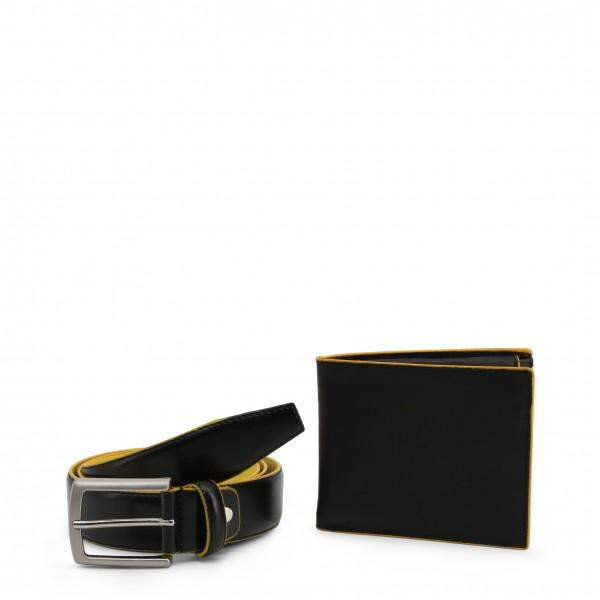 Dárkový set Černá peněženka s opaskem Made in Italia