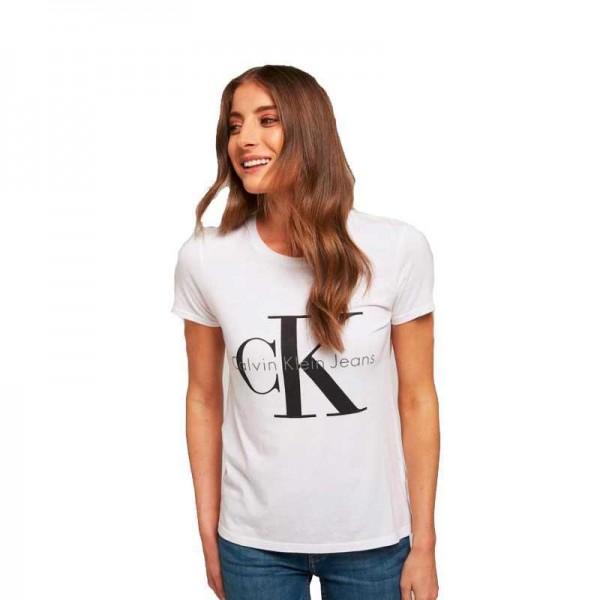 Dámské tričko Calvin Klein Jeans bílá