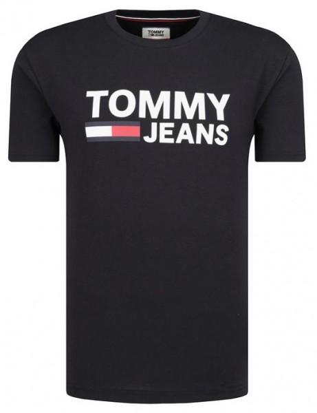 Pánské tričko Tommy Jeans černá
