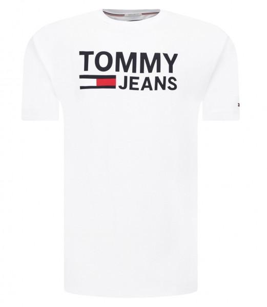 Pánské tričko Tommy Jeans bílá