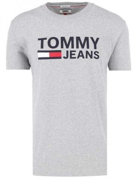 Pánské tričko šedé Tommy Jeans
