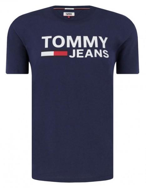 Pánské modré (navy) tričko Tommy Jeans