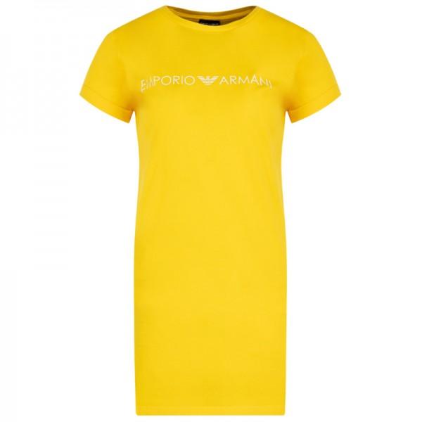 Krátké žluté dámské šaty Emporio Armani