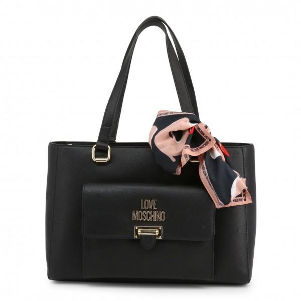Love Moschino stylová kabelka dámská černá
