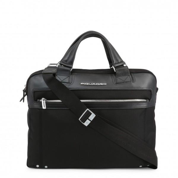 Piquadro černá taška na dokumenty pánská