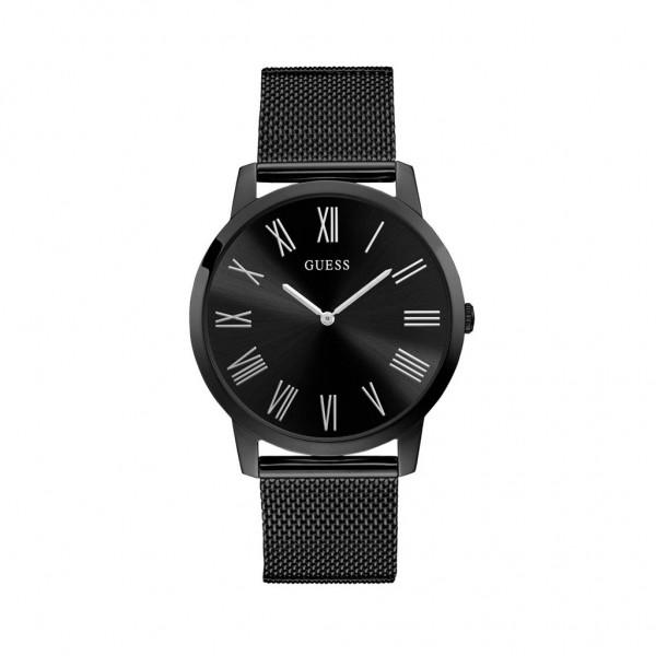 Černé Guess pánské hodinky