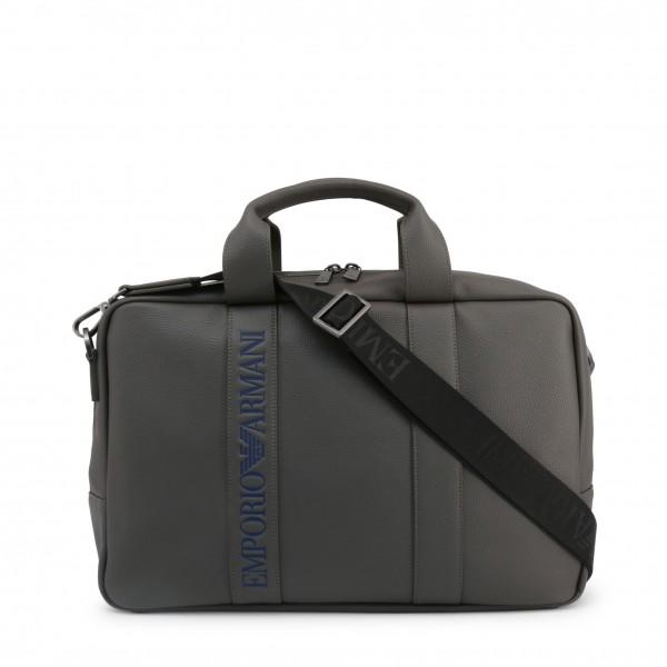 Emporio Armani pánská šedá taška na dokumenty