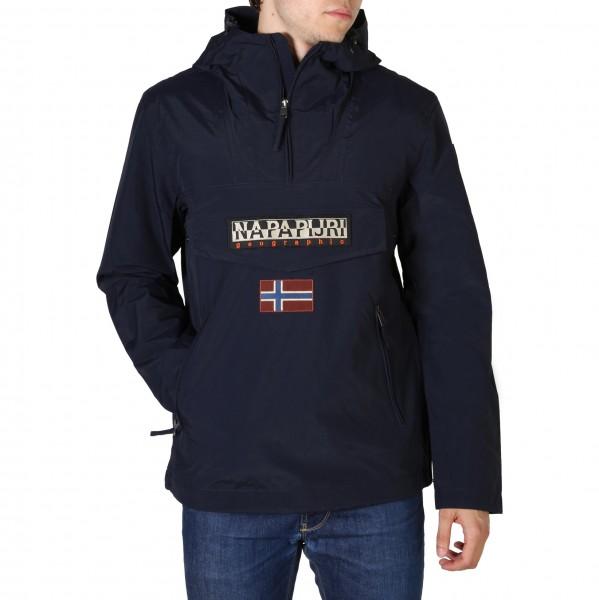 Modrá bunda Napapijri pánská sportovní