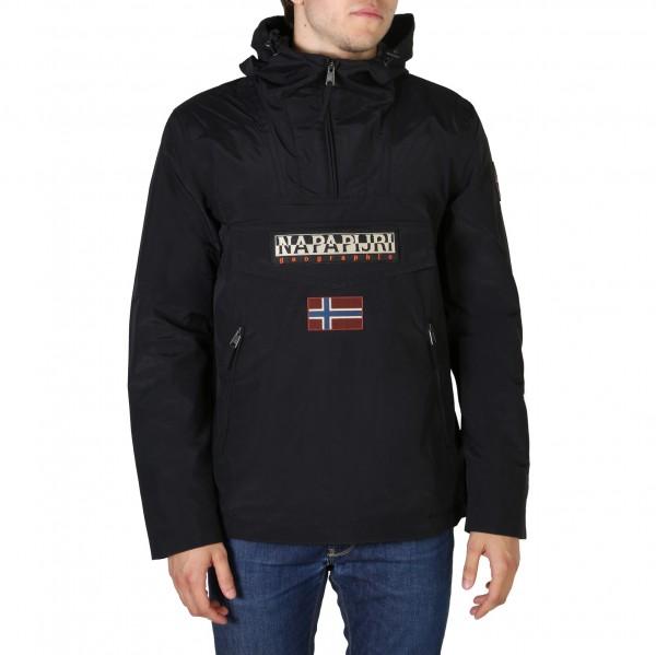 Sportovní pánská bunda Napapijri černá s kapucí