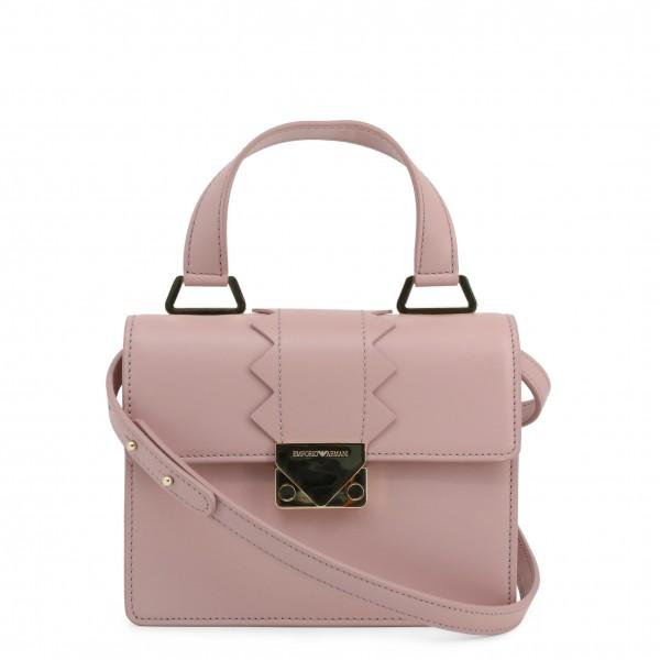 Dámská růžová kabelka Emporio Armani do ruky