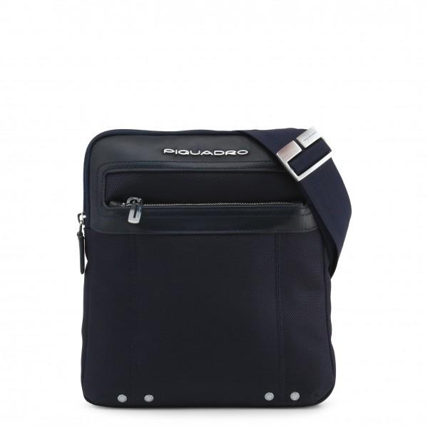 Pánská stylová taška Piquadro přes rameno modrá