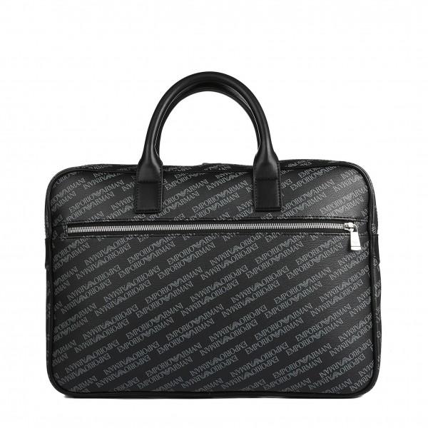 Pánská moderní taška Emporio Armani černá popsaná